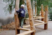Lapsille - For kids / Ideoita lasten ulkoleikkeihin - Ideas for playgrounds