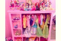 dress up cupboard idea