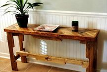 Pallet Side Table / beautiful diy wooden pallets side tables design ideas for your home decoration.