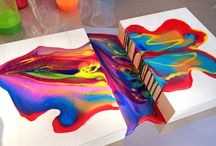 Pouring Acrylic