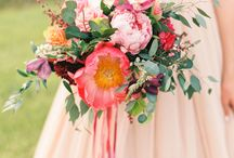 Lav wedding flowers
