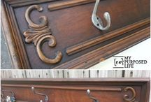 {Repurposed} Doors & Drawers / Repurposing cabinet doors and drawer fronts.