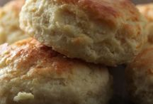 Popeye's Biscuits - Get In My Belly - Smother with Strawberry Freezer Jam- Delish