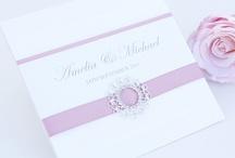 svatební oznámení a menu karty
