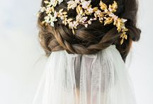 Wedding Hair / Lots of different hair styles for brides