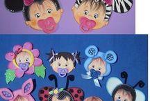 carinhas de bebês