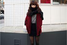 Japanese/Korean fashion