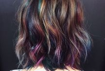 Oil Slick Haircolors