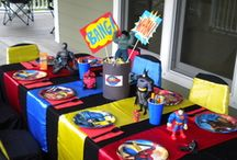 Superhero Parties...