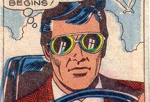 Pop Art / Vintage Comic men