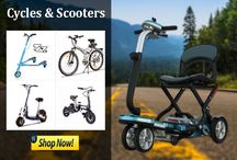 Cycles & Scooters / Its All about Cycles & Scooters: Gas, Electric & Mobility Scooters Bicycle