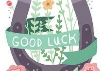 good luck προς το