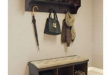 Brookwood Storage Bench Hacks / The Brookwood Storage Bench is one of the most popular items sold at Epoch Design. Here are some great ideas on how to customize it to even better fit your lifestyle and needs.  http://www.epochbydesign.com/store/products/storage/brookwood-storage-bench