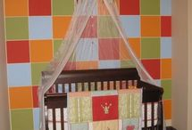 Square walls baby rooms / by GaGaGallery