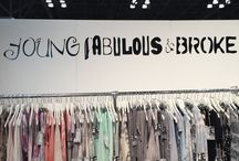 """Young Fabulous & Broke / Young Fabulous & Broke is the LA brand, designed by Heidi Cornell McKenna. Inspired by Young Hollywood to suit any wardrobe and to fit any occasion -  whether it be working, playing, shopping or even hiding.  """"I love the laid-back LA style, so I wanted the designs to reflect that sort of easy going and free flowing bohemian lifestyle. The collections embody wearable boho-chic styles and are perfect for casual or dressy occasions."""""""
