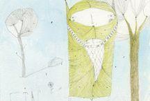 Ilustracion / seres intergalácticos