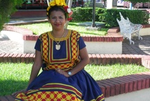 Dresses of Tehuantepec Oaxaca Mexico / by Fabricio Carballo