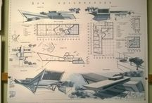 architecture sheets composition