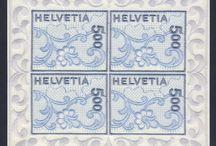 Stamps, Switzerland