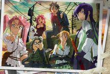 Anime - Highschool of the Dead