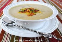 Soups / soup recipes to try / by Anne Rutherford