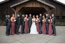 W E D D I N G • P A R T Y / Check out different styles of dresses and men's attire for a wedding party! Bridesmaids and Groomsmen of The Kelley Farm keep it very stylish and fun! Browse through these photos of wedding parties at The Kelley Farm!