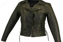 Women's Motorcycle Leather Jackets / Women's Motorcycle Leather Jackets made from Cowhide Leather with many features   ·  Two outside Zippered Leather Lined Pockets  ·  Bi-Swing Back  ·  Vented Underarm Gussets  ·  Antique Brass YKK Hardware  ·  Zippered Sleeves  ·  Made in USA
