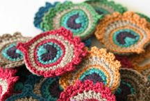 Crochet Flowers and Appliques / All crochet flowers of all sorts appliques for everything.