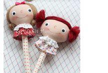 Pen dolls