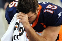 My crush on Timmy Tebow..... / by Cindy Scott Carter