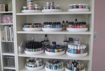 Stash Your Crap - Paints and Inks