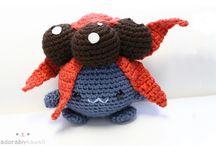 A Pokemon Crochet Pattern Board / by Kaitlyn L