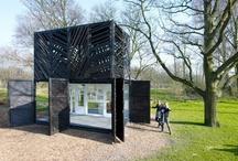 Architectuur / inspiratie voor architectuur op en rond braakliggende terreinen en bouwplaatsen