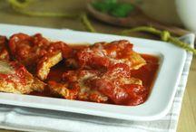 Secondi piatti / Secondi piatti di carne e pesce, torte salate e altre gustose ricette.