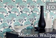 Sanderson Wallpaper 2013 - Madison / The second of their Home collection - Madison features inspiration from Mother Nature to create a wonderful palette of floral designs.