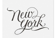 New York lettering & typography / New York lettering & typography