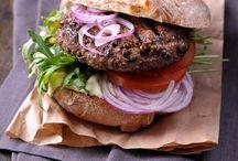 hamburgery, grilování, kotlík