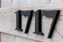 Garden Studio - House Numbers