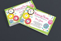 Etsy Business Cards / Promote your Etsy shop using these beautiful business card designs.