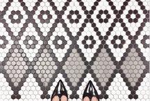 Floor / Recubrimientos / Arte / Arquitectura / Baldosas / Adoquines / Patrones