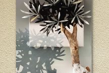 art | painting and sculpture | olive tree /  the olive tree has been a holy symbol of several powerful meanings for the human race