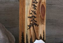 Wood Burning / Wood Burning Ideas