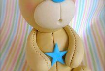Cake teddybear