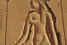 Ancient Egyptian Temple Relief / Pin dedicated to imagery of Temple relief.