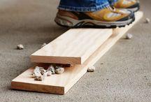 dřevo úpravy