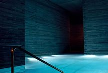 Pool/Spa/Sauna Materiality and Lighting Ideas