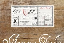 Vintage Designs Wedding Invitations / Full selection of beautiful wedding stationery from www.vintage-designs.co.uk