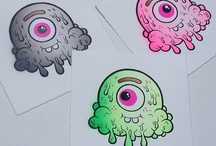 Pop Art / Art. Pop culture. Drawings and illustration. Cartoons and colors.