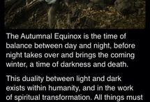 Autumn Equinox (Mabon) / www.PurpleCrystalWitch.Etsy.com