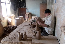 Ceramics : Pottery workshops and studios / Potteries' workshops - pictures of potters - potters' portraits -  disclaimer: these pics are for reference only. these pics do not belong to me unless otherwise noted.  / by Joseluis Del Bogatell